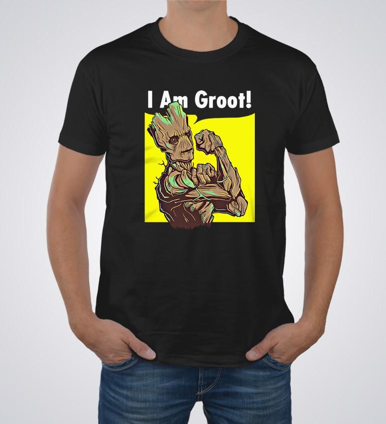 c95aa3ae0 Koszulka I AM GROOT | Koszulki Filmowe | Rebelios.pl